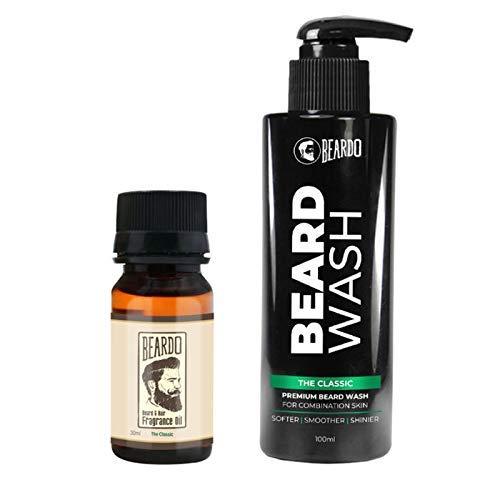 The Classic Beard Oil and Beard Wash Combo