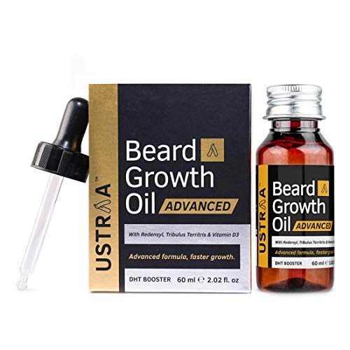 Ustraa Beard Growth Oil Advanced with Redensyl and DHT Booster
