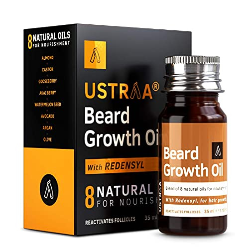 Ustraa Beard Growth Oil with Vitamin E