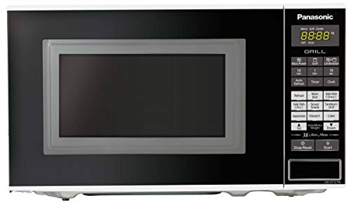 Panasonic 20L Grill Microwave Oven(NN-GT221WFDG)