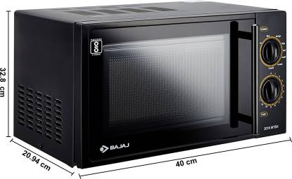 Bajaj 20 Litres Grill Microwave Oven with Mechanical Knob (MTBX 2016)