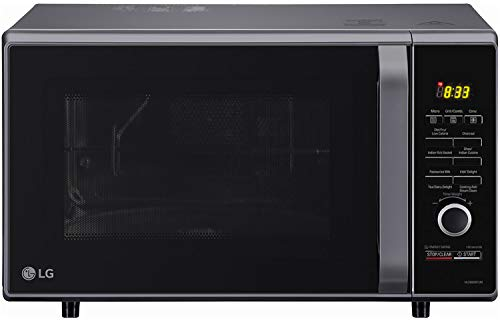 LG 28 L Charcoal Convection Microwave Oven (MJ2886BFUM)