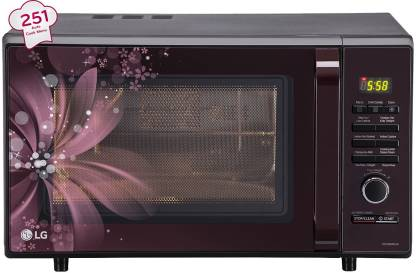 LG 28 L Convection Microwave Oven (MC2886BRUM)