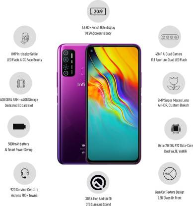 Infinix Hot 9 Pro (64GB Storage | 4GB / 6GB RAM)
