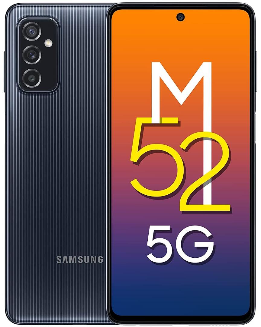 Samsung Galaxy M52 5G (128GB Storage | 6 GB / 8 GB RAM)