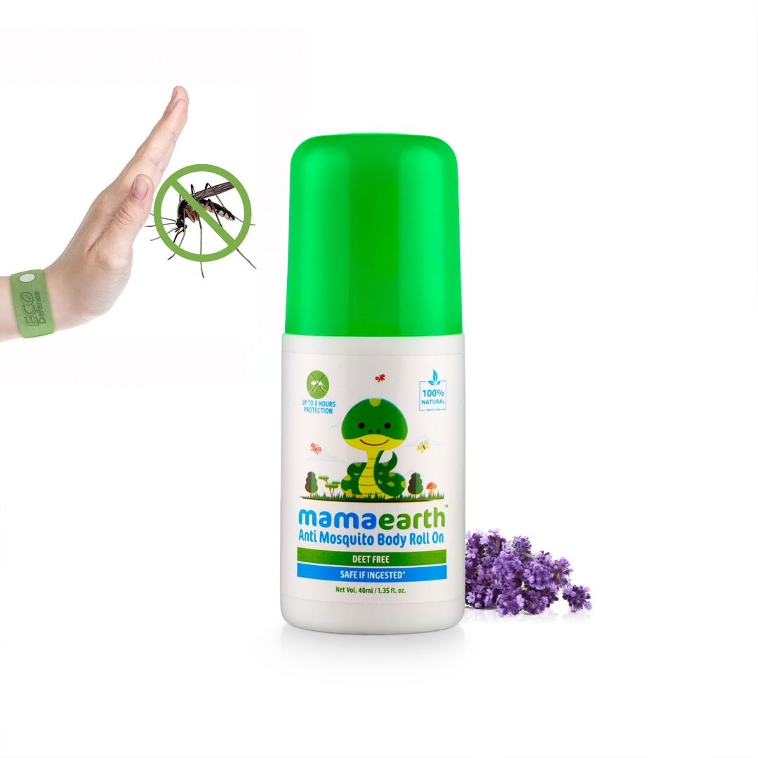 MamaEarth Anti Mosquito Body Roll On