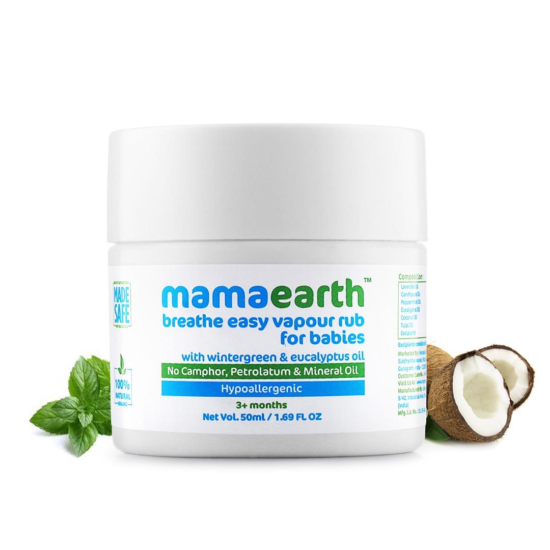 MamaEarth Breathe Easy Vapour Rub