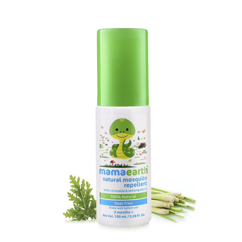 MamaEarth Natural Mosquito Repellent Spray