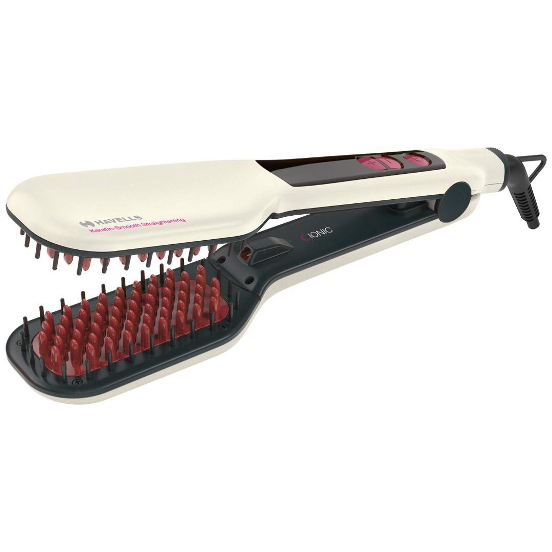 Havells HC4030 Ionic & Keratin Smooth Straighteneing Brush