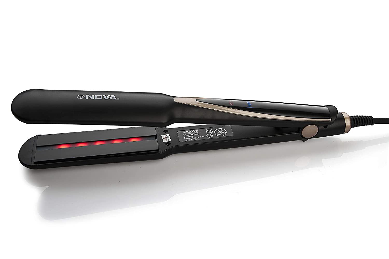 Nova NHS 890 Extra Wide Plate Infrared Hair Straightener