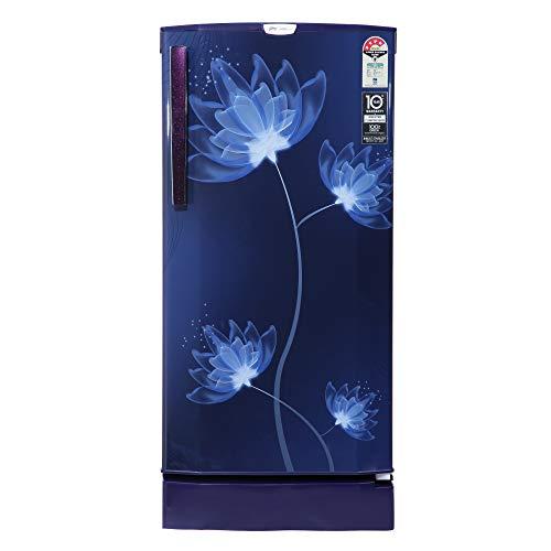 Godrej 190 L 4 Star Inverter Direct-Cool Single Door Refrigerator (RD 1904 PTDI 43 GL BL)