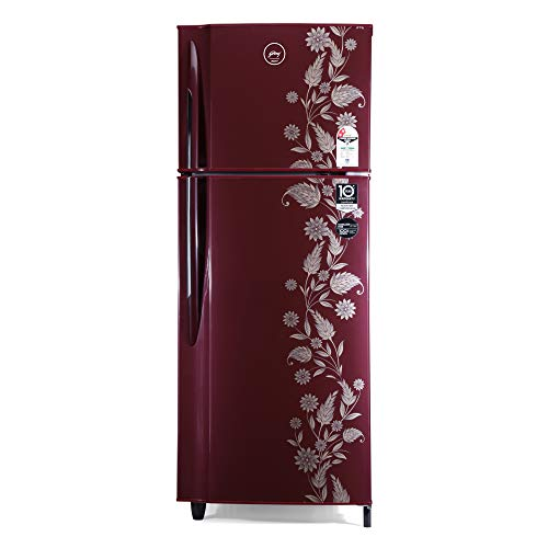 Godrej 255 L 2 Star Inverter Frost-Free Double Door Refrigerator (RF EON 255B 25 HI SC DR)