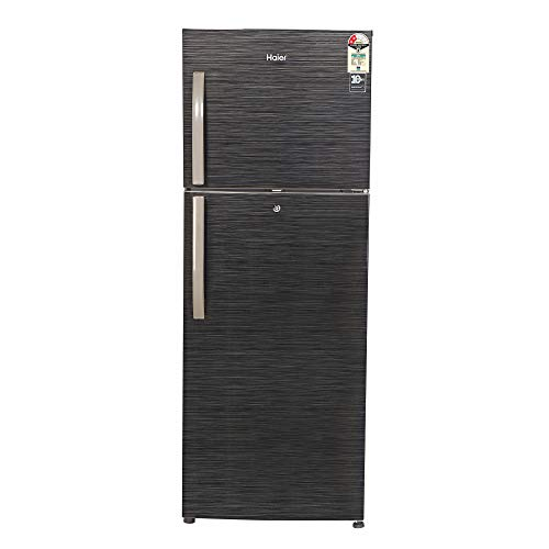 Haier 310 L 2 Star Frost-Free Double Door Refrigerator (HRF-3304BKS-E)