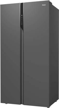 Haier 570 L Inverter Frost-Free Side-by-Side Refrigerator (HRF-622KS)