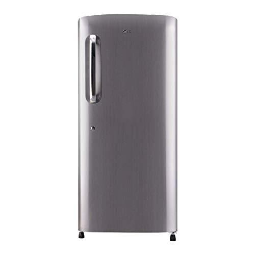 LG 215 L 4 Star Inverter Direct Cool Single Door Refrigerator (GL-B221APZY)