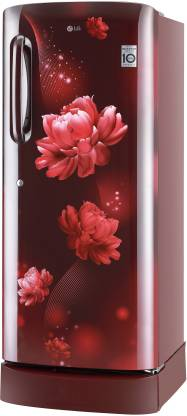 LG 235 L 4 Star Inverter Direct-Cool Single Door Refrigerator (GL-D241ASCY)