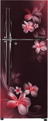 LG 260 L 3 Star Inverter Linear Frost Free Double Door Refrigerator (GL-T292RSPN)