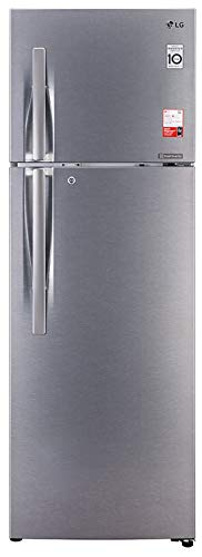 LG 335 L 3 Star Inverter Frost-Free Double Door Refrigerator (GL-T372JDS3)