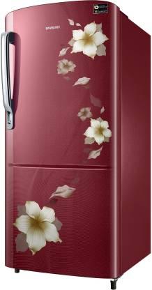 Samsung 192 L 3 Star Inverter Direct Cool Single Door Refrigerator(RR20T172YR2/HL)