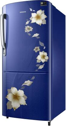 Samsung 192 L 3 Star Inverter Direct Cool Single Door Refrigerator(RR20T172YU2/HL)