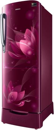 Samsung 215 L 4 Star Inverter Direct Cool Single Door Refrigerator(RR22T382XR8/HL)