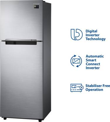 Samsung 253 L 1 Star Frost Free Double Door Refrigerator(RT28M3022S8)