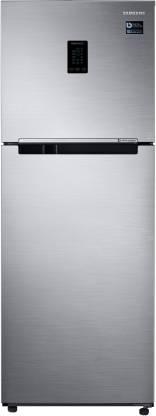 Samsung 324L 3 Star Inverter Frost Free Double Door Refrigerator (RT34T4513S8/HL)