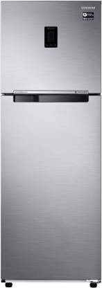 Samsung 345L 3 Star Inverter Frost Free Double Door Refrigerator (RT37T4513S8/HL)