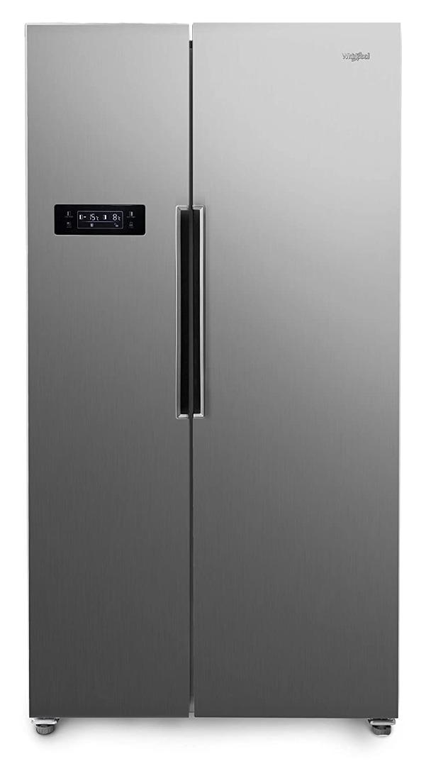 Whirlpool 570 L Inverter Frost-Free Multi-Door Refrigerator (WS SBS 570 STEEL (SH), Grey)