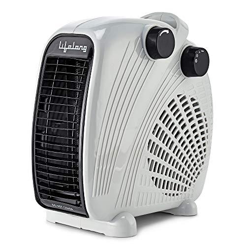 Lifelong Flare Fan Room Heater - 2000 Watt