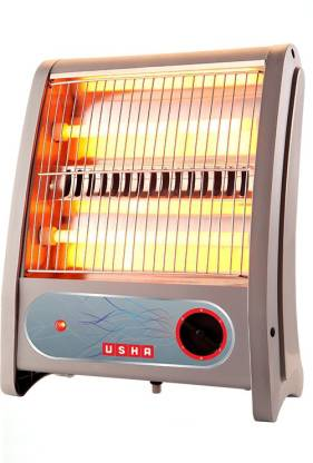 Usha Quartz Room Heater (3002) 800-Watt with Overheating Protection