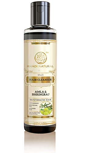 Khadi Herbal Ayurvedic Amla And Bhringraj Hair Cleanser