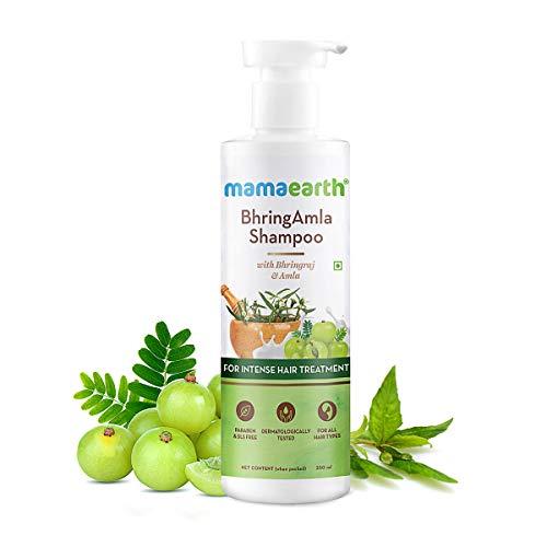 MamaEarth Bhringamla Shampoo with Bhringraj & Amla for Intense Hair Treatment