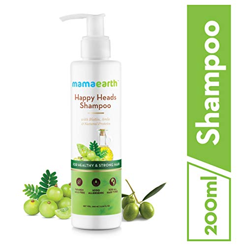 Mamaearth Happy Heads Shampoo For Healthy & Stronger Hair