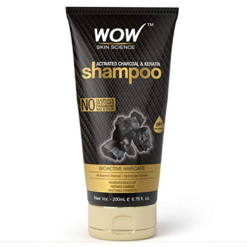 Wow Charcoal & Keratin Shampoo