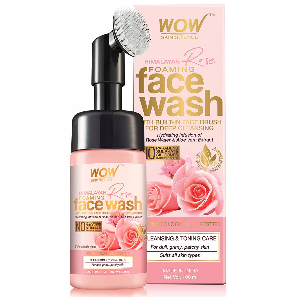 Wow Himalayan Rose Shampoo with Rose Hydrosol