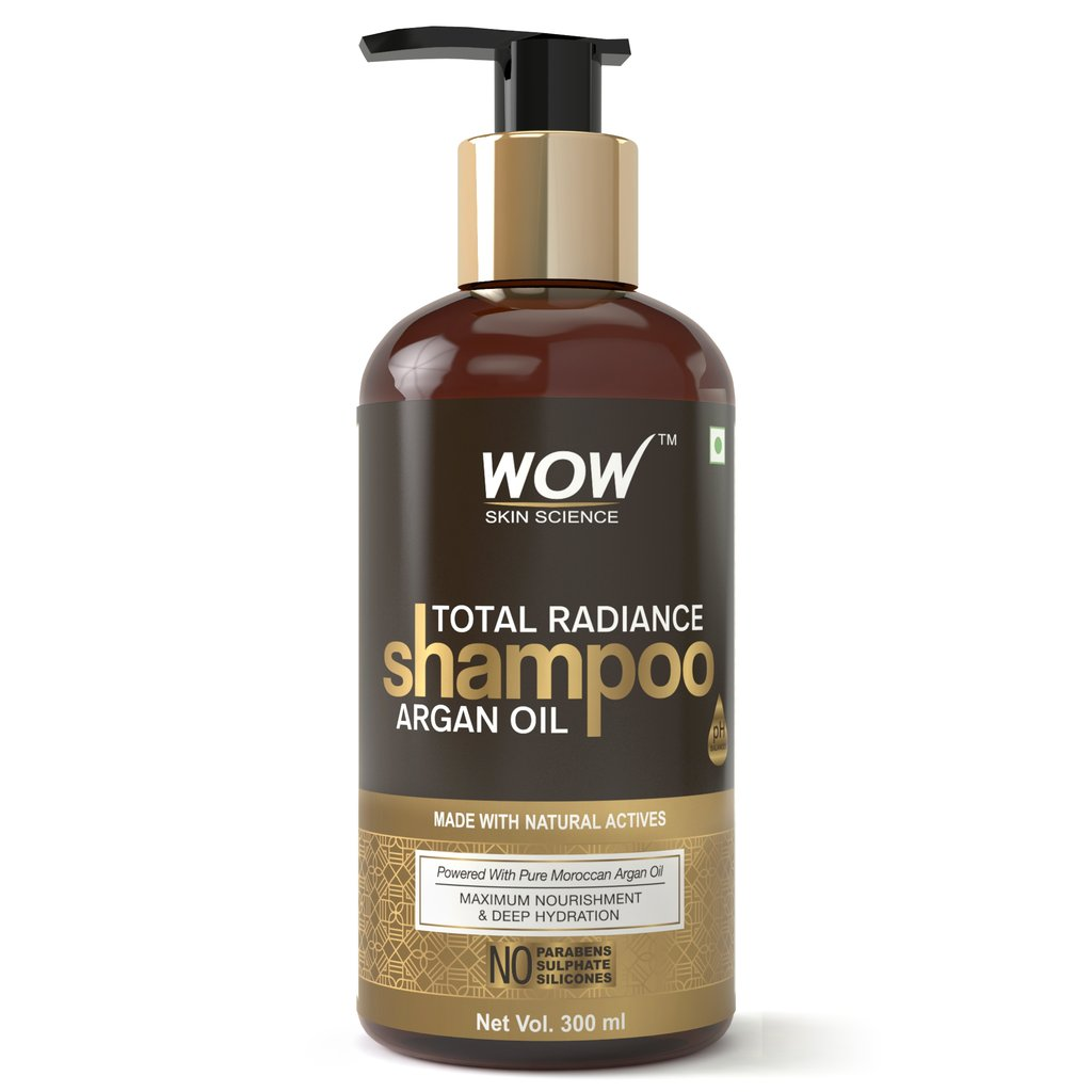 Wow Total Radiance No Parabens, Sulphate & Silicone Shampoo