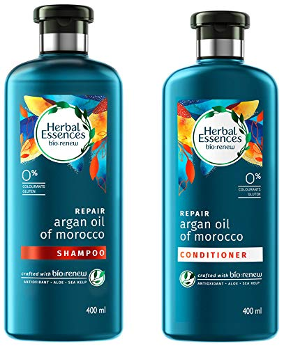 Herbal Essences Argan Oil Of Morocco Shampoo And Conditioner Combo, 400ml + 400ml