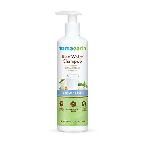 Mamaearth Rice Water Shampoo With Rice Water & Keratin