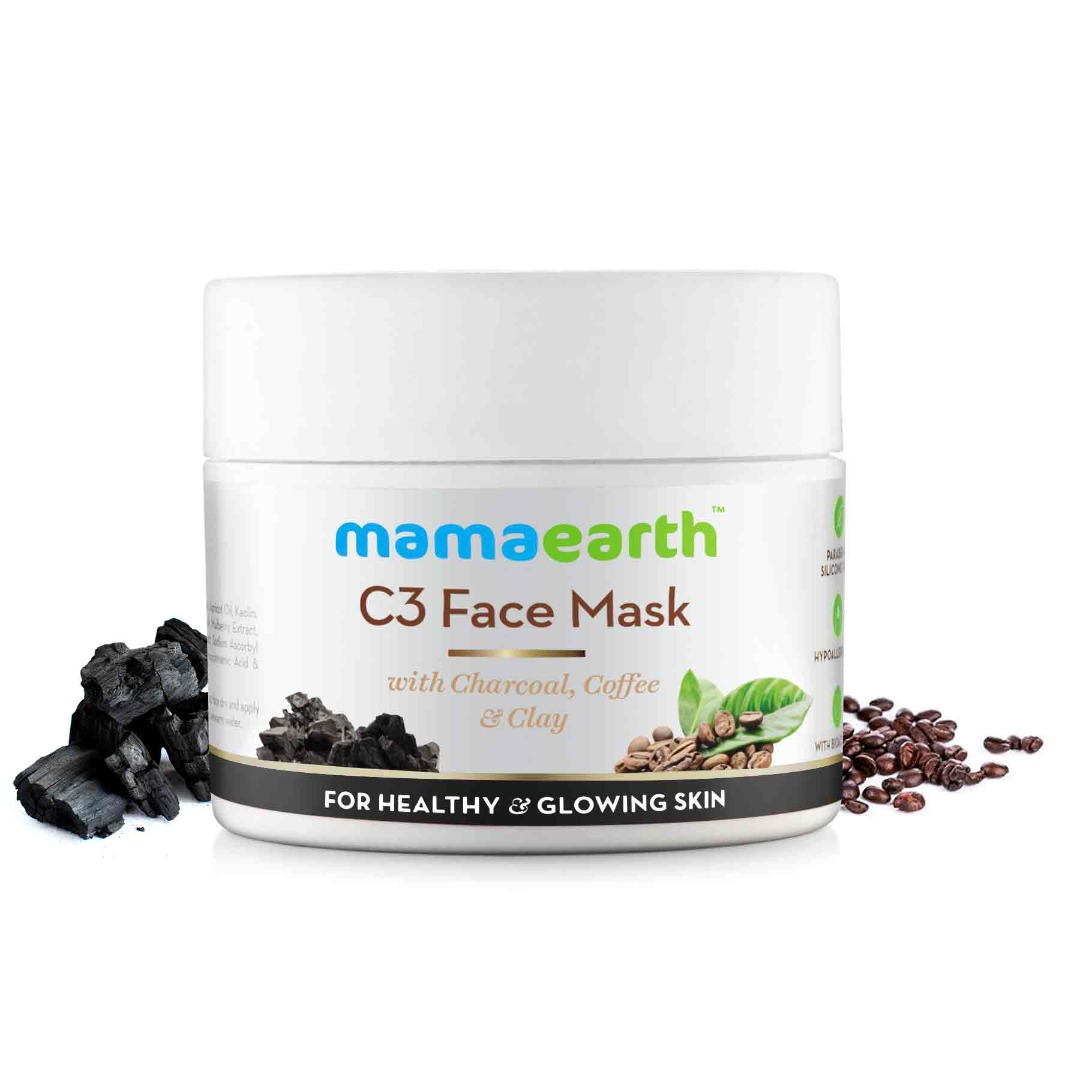 MamaEarth C3 Face Mask for Healthy & Glowing Skin