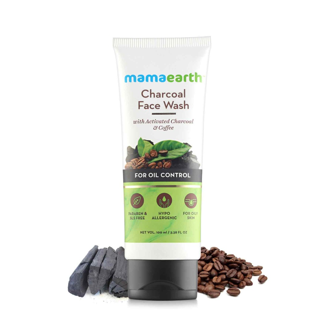 MamaEarth Charcoal Facewash for Oil Control