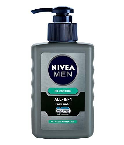 NIVEA Men Face Wash, Oil Control for 12hr Oil Control with 10x Vitamin C Effect