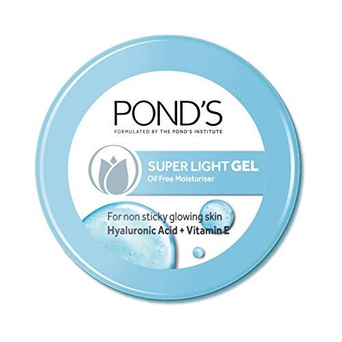 Ponds Super Light Gel Face Moisturiser with Hyaluronic Acid and Vitamin E