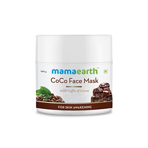 MamaEarth Coco Face Mask with Coffee & Cocoa for Skin Awakening
