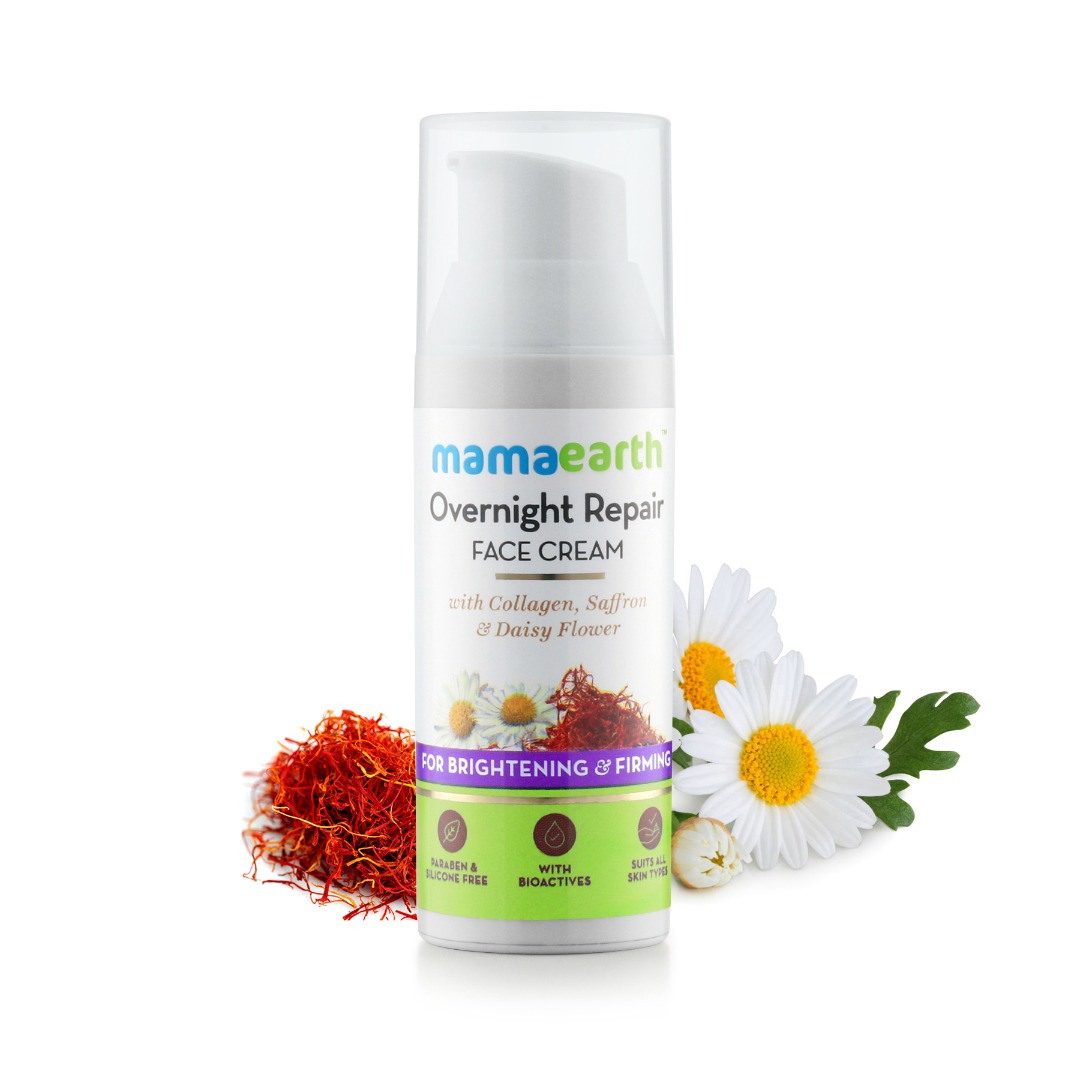 MamaEarth Overnight Repair Face Cream
