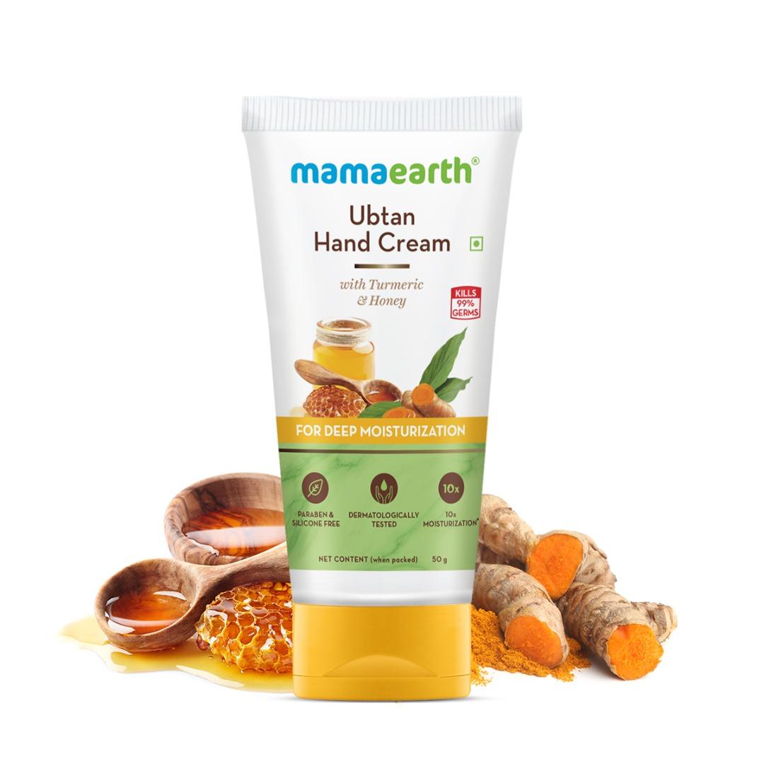 MamaEarth Ubtan Hand Cream with Turmeric & Honey