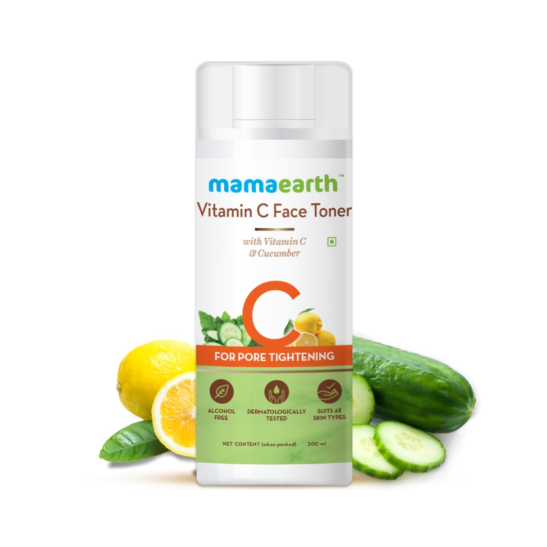 MamaEarth Vitamin C Face Toner with Vitamin C & Cucumber