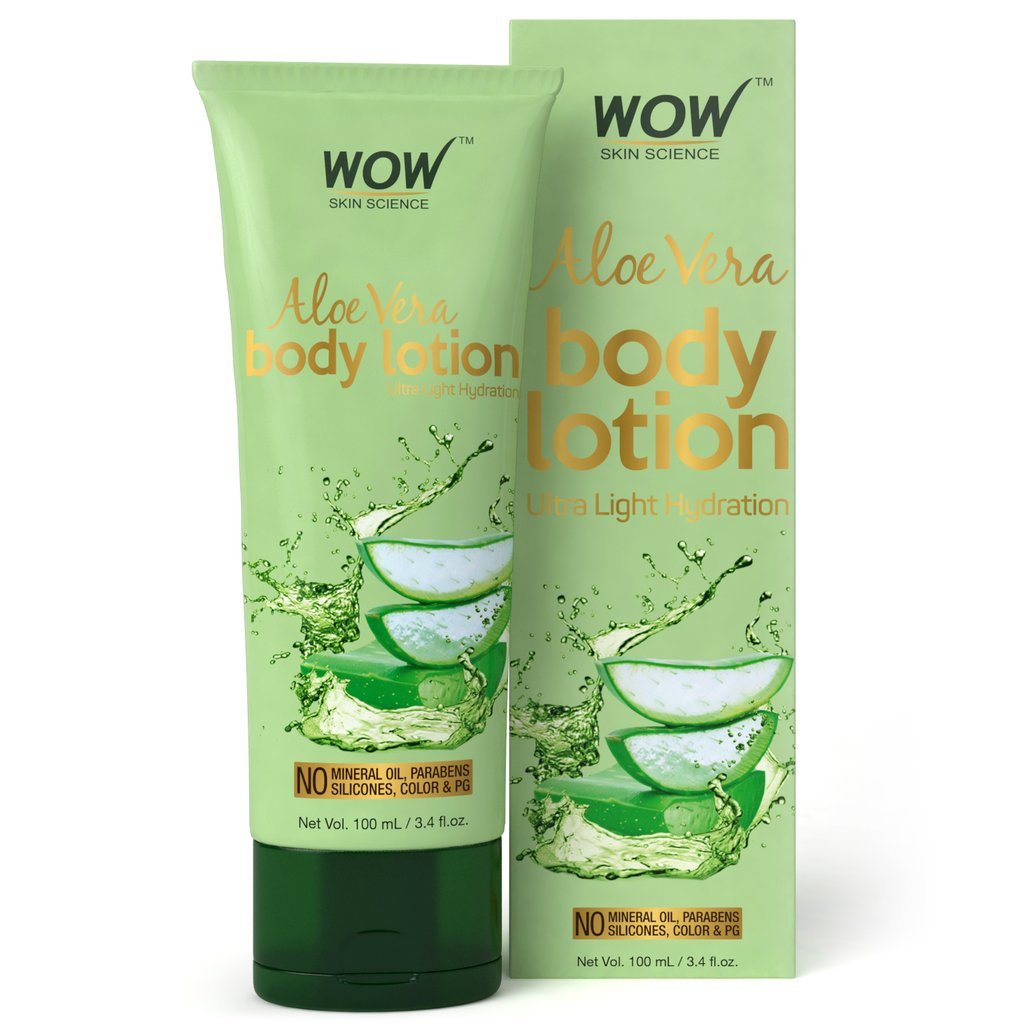 Wow Aloe Vera Body Lotion, Ultra Light Hydration