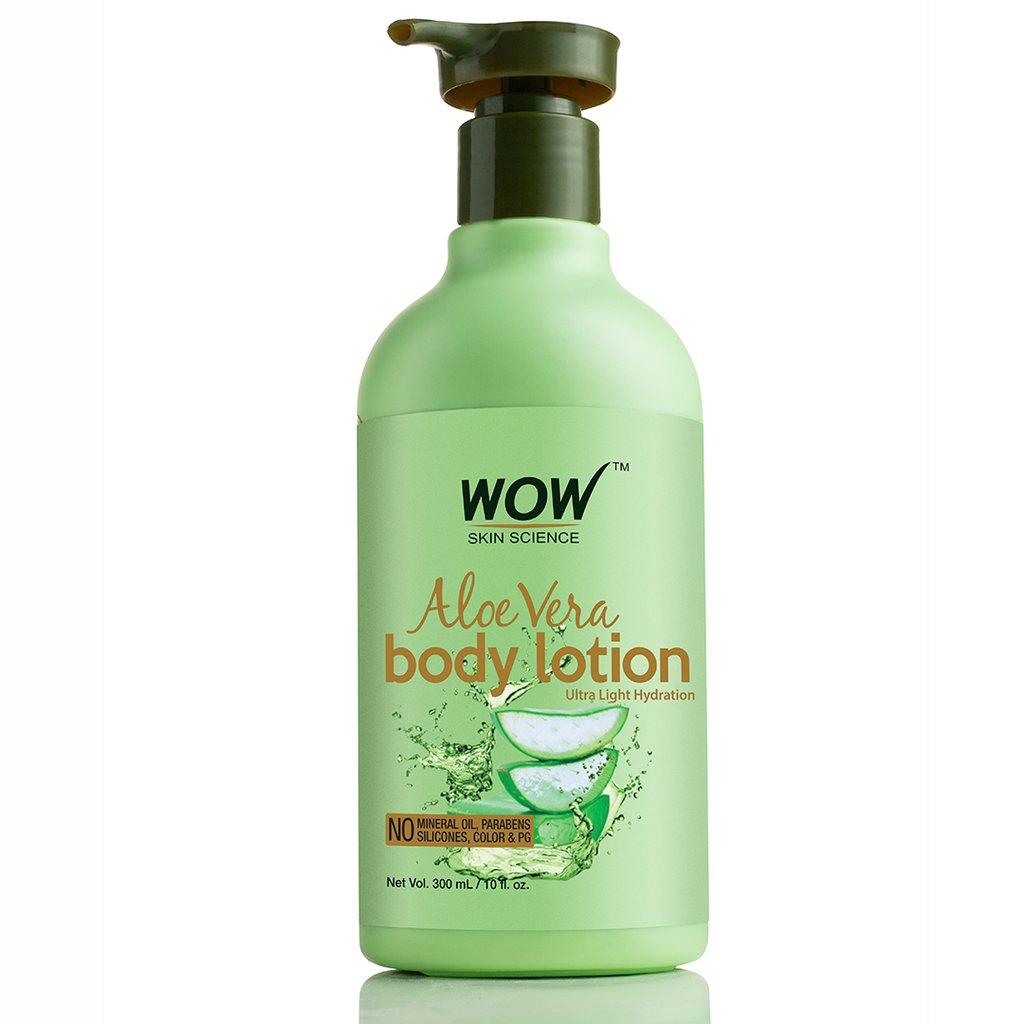 Wow Aloe Vera Daily Body Lotion (Ultra Light)