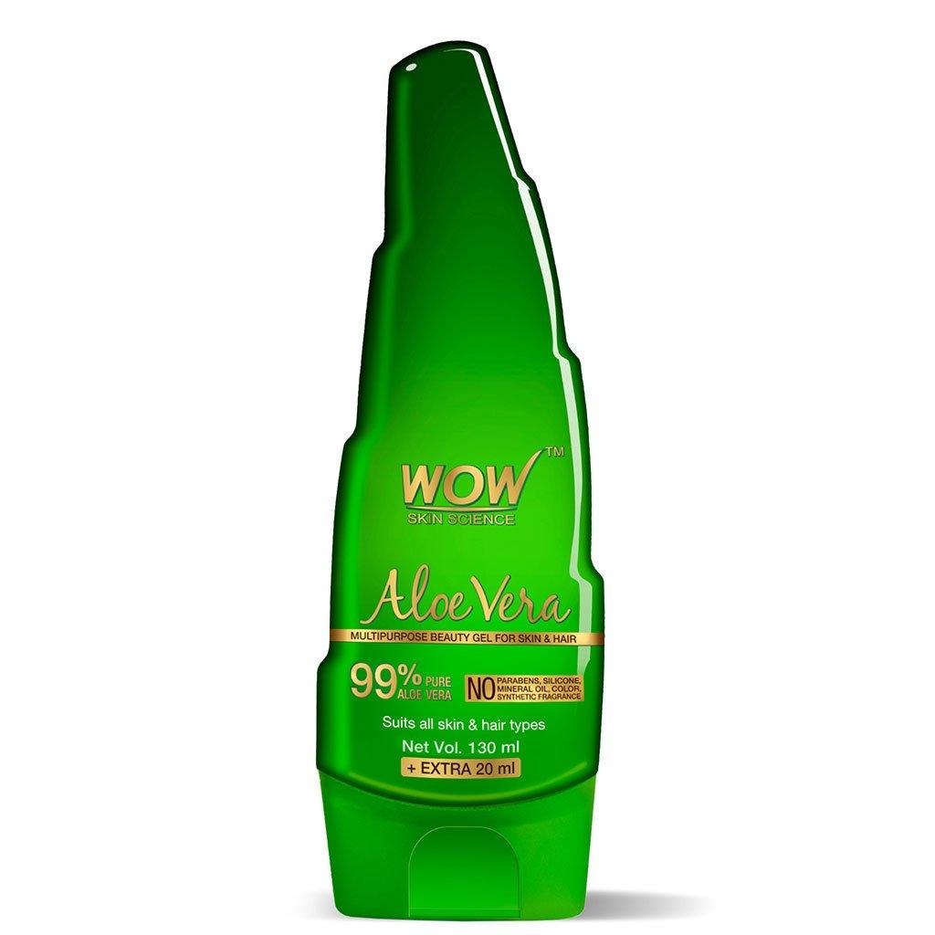 Wow Aloe Vera Multipurpose Beauty Gel for Skin & Hair